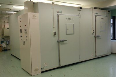 2連式プレハブ低温恒温恒湿室