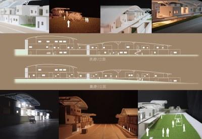 日本建築学会北海道支部卒業設計競技金賞図面2