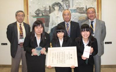 デザコン2012環境部門表彰スナップ