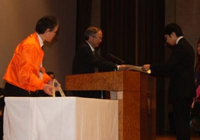 デザコン2012ものづくり部門表彰スナップ
