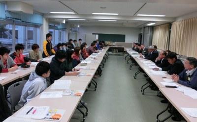 釧路建設業協会と本校建築学科学生との意見交換会