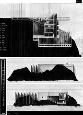 日本建築学会北海道支部卒業設計競技銀賞図面2